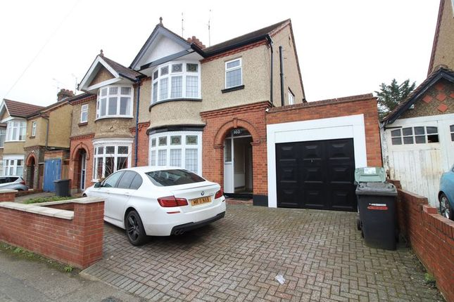 Thumbnail Semi-detached house to rent in Carlton Crescent, Luton