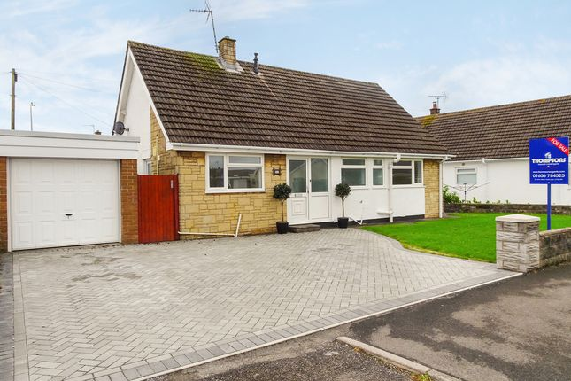Thumbnail Detached bungalow for sale in Fulmar Road, Nottage, Porthcawl