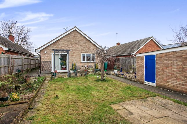 Thumbnail Detached bungalow for sale in Meynell Walk, Peterborough