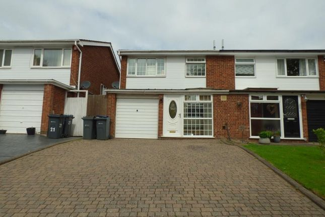 Thumbnail Semi-detached house for sale in Ingham Way, Harborne, Birmingham