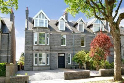 Semi-detached house to rent in Rubislaw Den South, Aberdeen