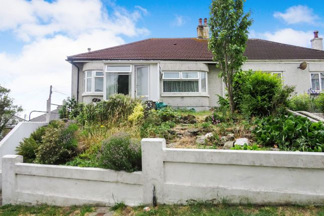 Thumbnail Semi-detached bungalow for sale in Higher Efford Road, Plymouth