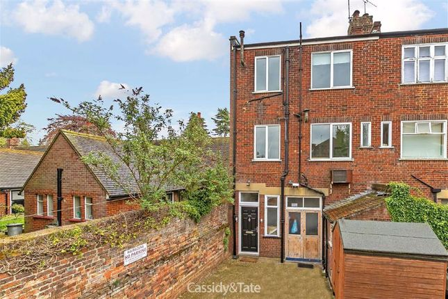 Thumbnail Flat to rent in St Peters Street, St Albans, Hertfordshire