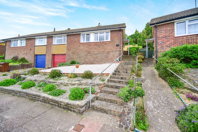 Thumbnail Semi-detached bungalow for sale in Twineham Road, Eastbourne