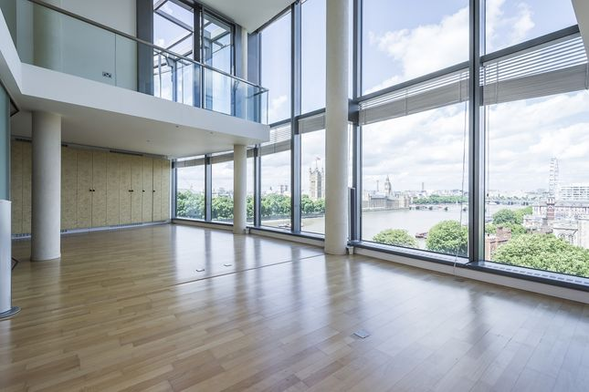 Thumbnail Flat to rent in Parliament View Apartments, Albert Embankment, London