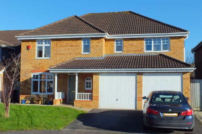 Thumbnail Detached house for sale in Castell Close, Paxcroft Mead, Trowbridge