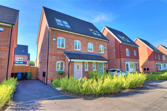 Thumbnail Town house for sale in Nixon Phillips Drive, Hindley Green, Wigan