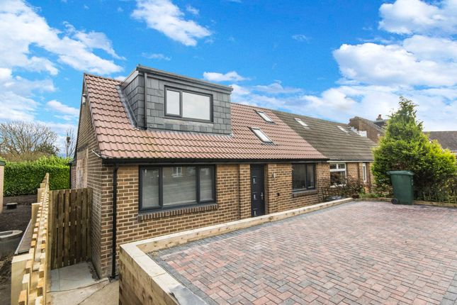 Thumbnail Semi-detached house for sale in Lydgate Drive, Lepton, Huddersfield