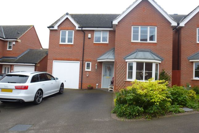 Thumbnail Detached house for sale in Portland Way, Clipstone Village, Mansfield