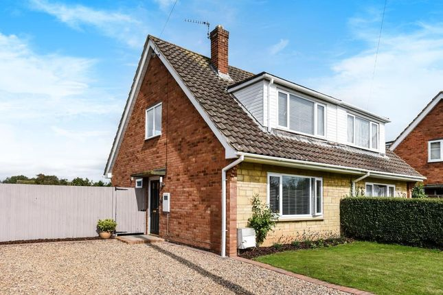 End terrace house for sale in St. Peters Road, Wellsbourne