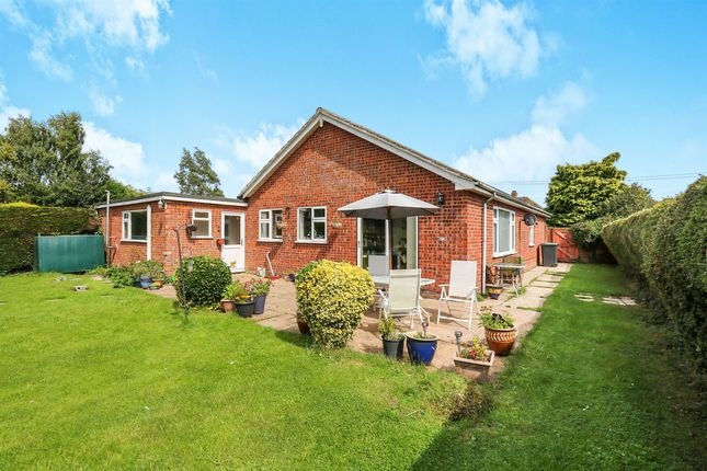 Thumbnail Detached bungalow for sale in Mill Road, Worlingworth, Woodbridge