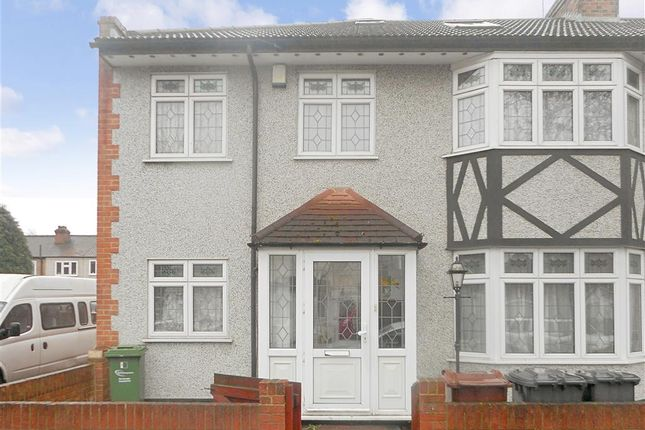 Thumbnail End terrace house for sale in Kenneth Road, Chadwell Heath, Essex