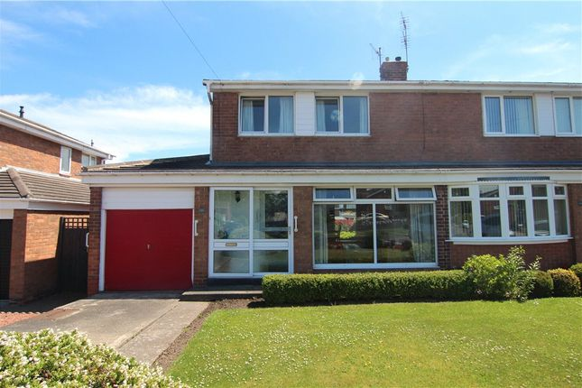 Thumbnail Semi-detached house for sale in Raby Road, Newton Hall, Durham