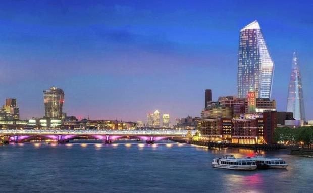 Thumbnail Flat for sale in One Blackfriars, Bankside, 8 Blackfriars Road, London