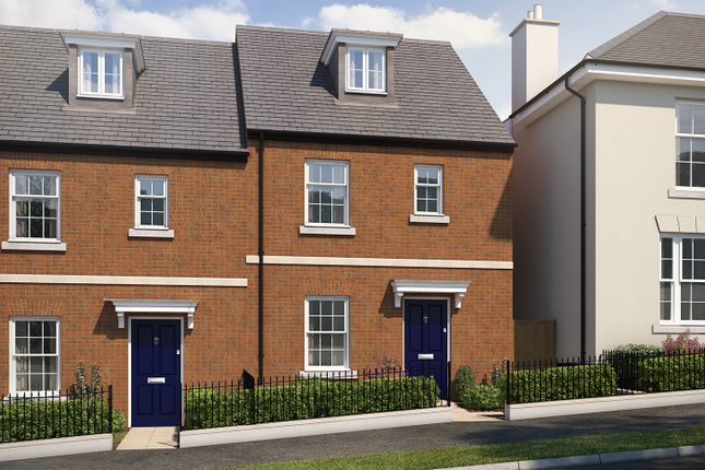 """Thumbnail Terraced house for sale in """"The Aslin"""" at Haye Road, Sherford, Plymouth"""