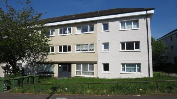 Thumbnail 1 bed flat to rent in Glenmuir Drive, Priesthill, Glasgow