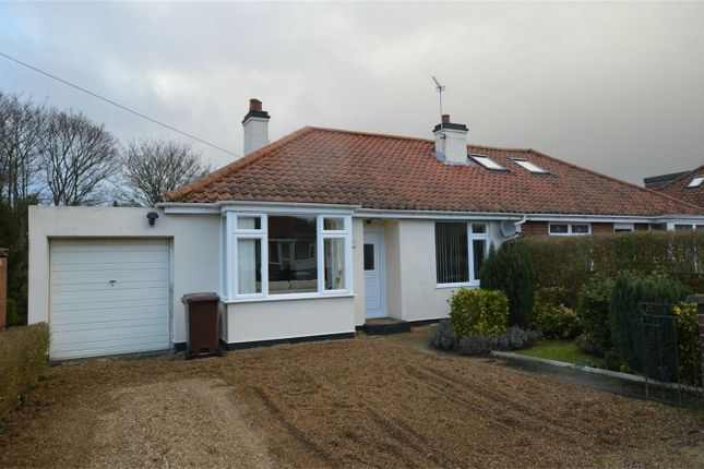 Thumbnail Semi-detached bungalow for sale in Hastings Avenue, Hellesdon, Norwich