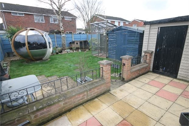 Outside of Milton Street, Balderton, Newark, Nottinghamshire. NG24