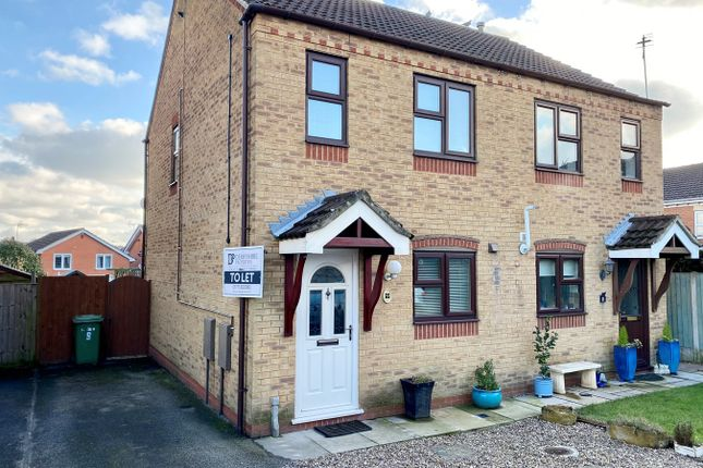 2 bed semi-detached house to rent in Weavers Close, Belper DE56