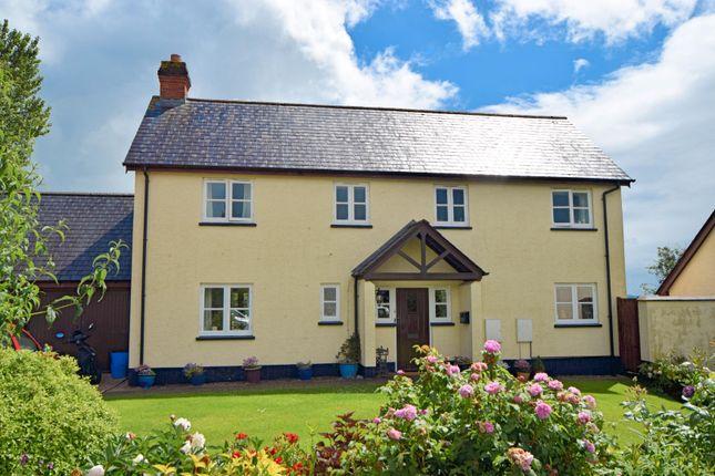 Thumbnail Detached house for sale in Orpington Court, Halberton