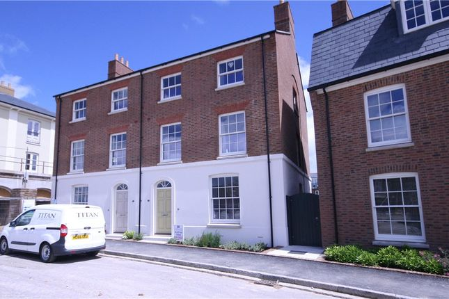 Thumbnail Semi-detached house for sale in Marsden Street, Poundbury, Dorchester