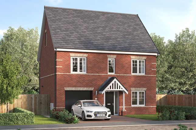 """Thumbnail Detached house for sale in """"The Prestbury"""" at Leger Way, Intake, Doncaster"""