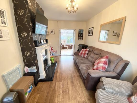 Lounge of Bryn Garmon, Mold, Flintshire CH7