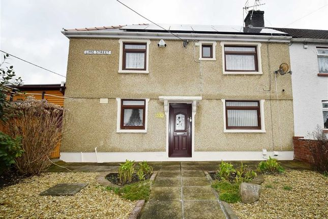 Thumbnail Semi-detached house for sale in Lime Street, Rhydyfelin, Pontypridd