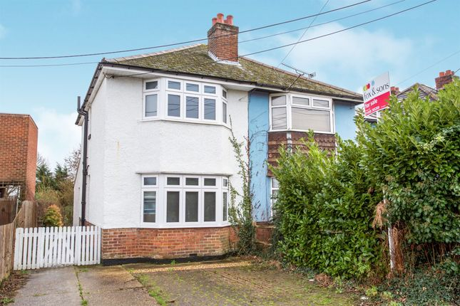 Thumbnail Semi-detached house for sale in Upper St Helens Road, Hedge End, Southampton