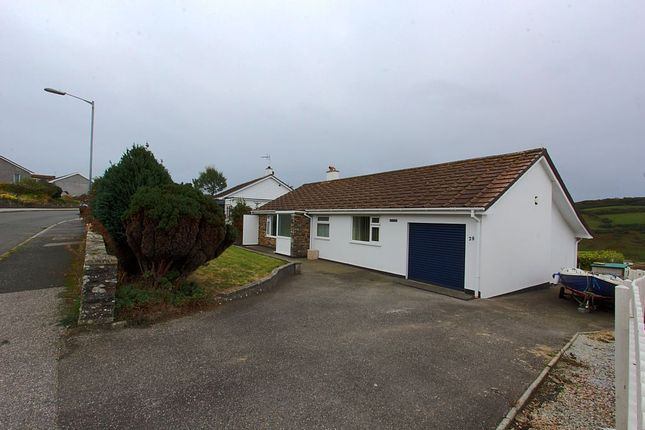 Thumbnail Detached bungalow for sale in Perhaver Park, Gorran Haven, St Austell, Cornwall