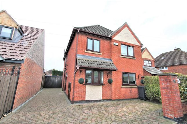 Thumbnail Detached house for sale in Brighton Avenue, Syston, Leicester