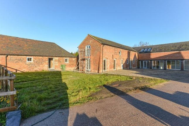 Thumbnail Barn conversion for sale in Dorrington Lane, Woore, Crewe