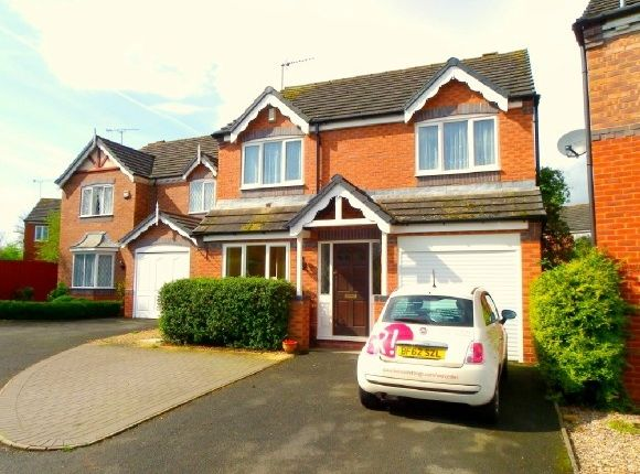 Thumbnail Detached house to rent in Goodrich Avenue, Warndon, Worcester