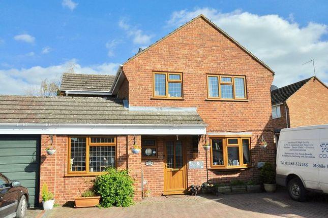 Thumbnail Detached house for sale in Seward Road, Badsey, Evesham