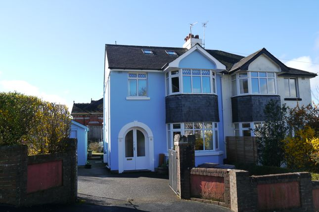 Thumbnail Semi-detached house for sale in Farwell Road, Totnes