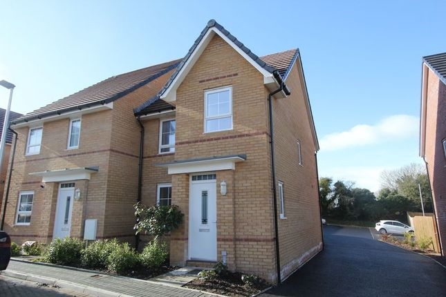 Thumbnail Semi-detached house for sale in St. Johns View, St. Athan, Barry