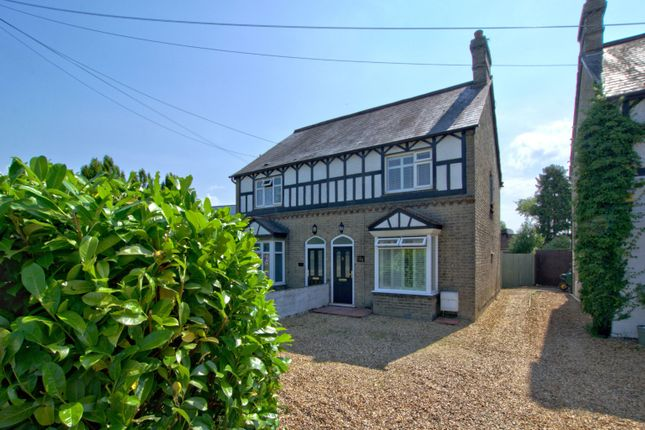 Thumbnail Semi-detached house to rent in High Street, Harston, Cambridge, Cambridgeshire