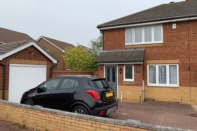 3 bed semi-detached house to rent in Fitzroy Drive, Lee-On-The-Solent, Hampshire PO13