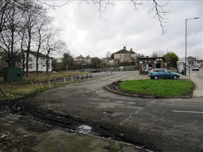 Site View of Intake Turning Circle (Land), Mansfield Road, Sheffield, South Yorkshire S12