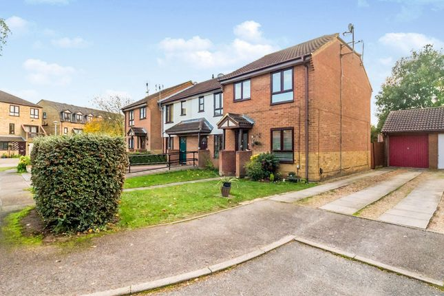 Thumbnail End terrace house for sale in Rivenhall End, Welwyn Garden City