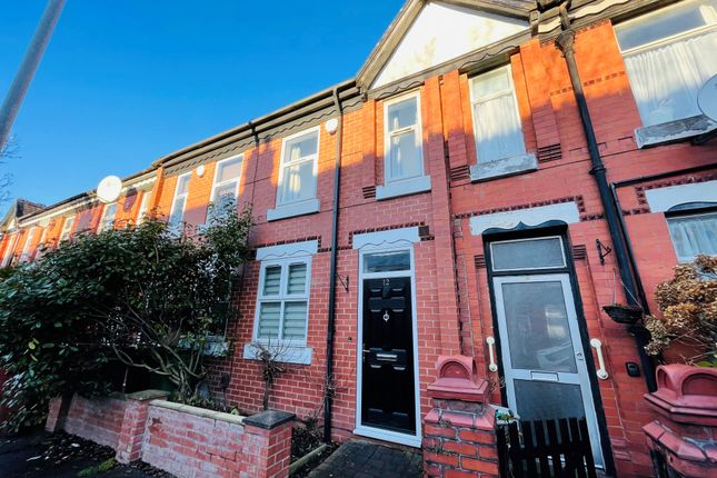 2 bed terraced house to rent in Thornton Road, Manchester M14