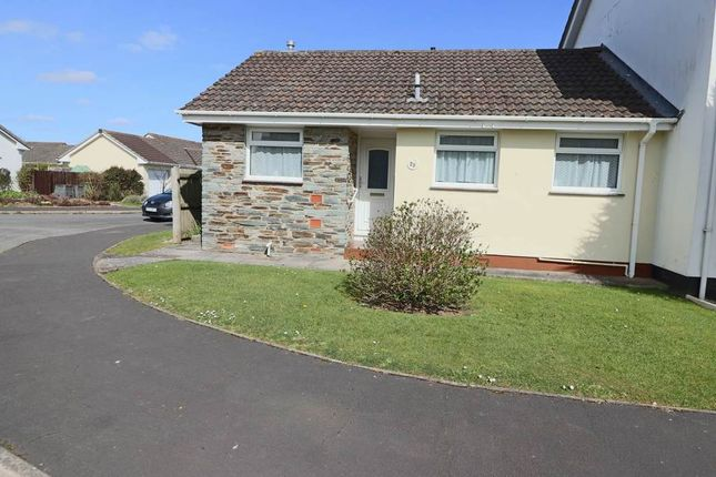 Thumbnail Semi-detached bungalow for sale in Mead Park, Bickington, Barnstaple