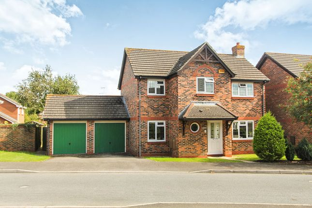 4 bed detached house for sale in Myrrfield Road, Bishopdown Farm, Salisbury