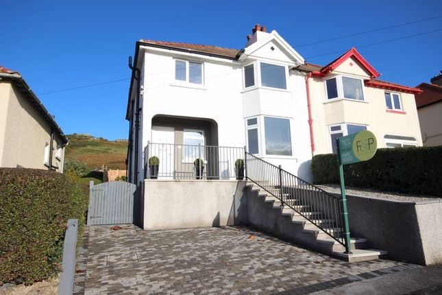 Thumbnail Semi-detached house for sale in Vardre Avenue, Deganwy, Conwy