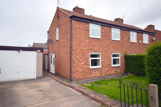 Thumbnail Semi-detached house for sale in Church Lane, Calow, Chesterfield