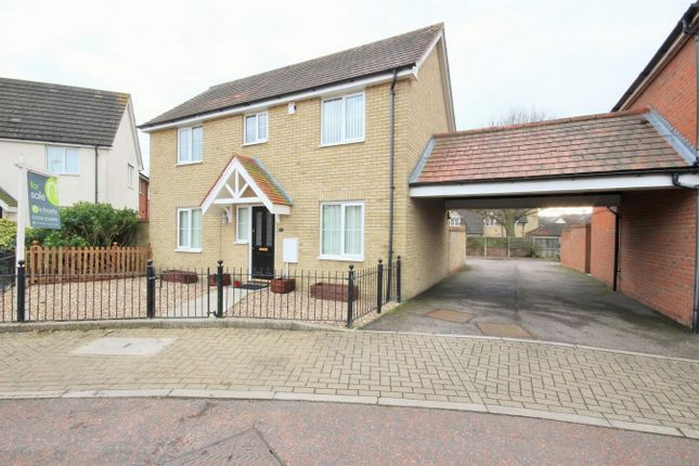 Thumbnail Detached house for sale in Caracalla Way, Mile End, Colchester, Essex