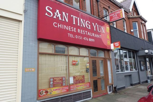 Thumbnail Restaurant/cafe for sale in Crosby Road North, Waterloo, Liverpool