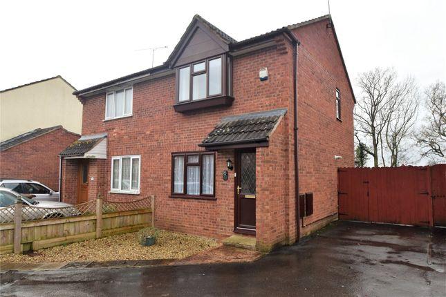 Thumbnail Semi-detached house to rent in Oak Crescent, Willand, Cullompton, Devon