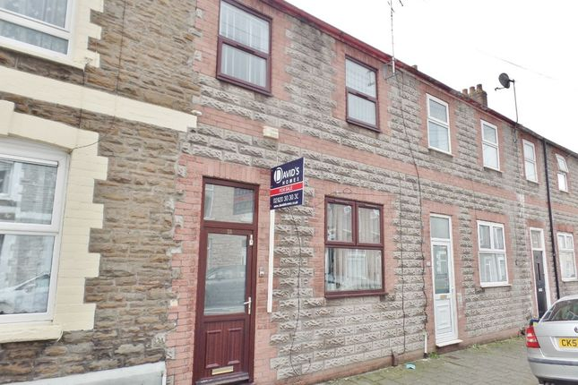 Terraced house for sale in Railway Street, Splott, Cardiff