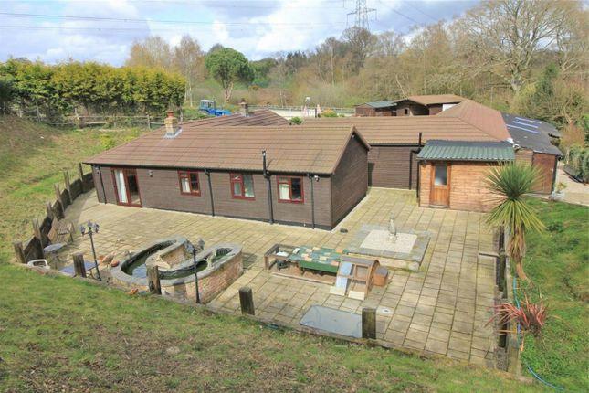 Thumbnail Detached bungalow for sale in Potmans Lane, Catsfield, East Sussex